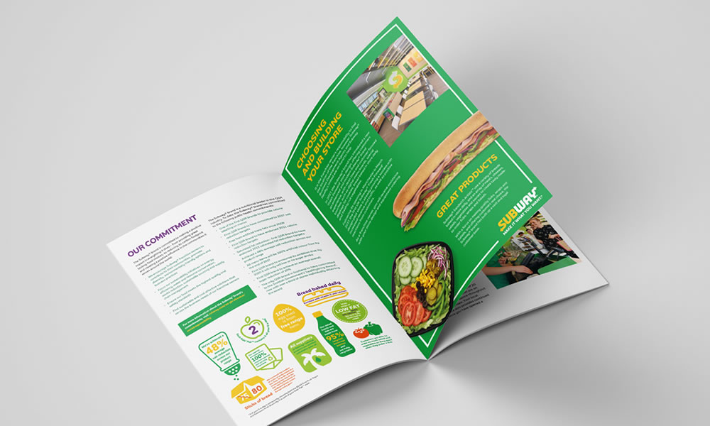 Subway brochure